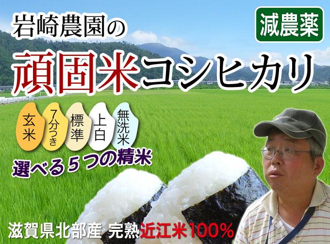 岩崎農園の頑固米コシヒカリ